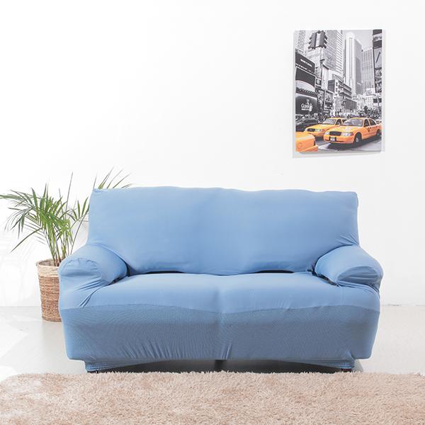 接触冷感ソファカバー2人掛用 ブルー HOME COORDY 商品画像 (5)