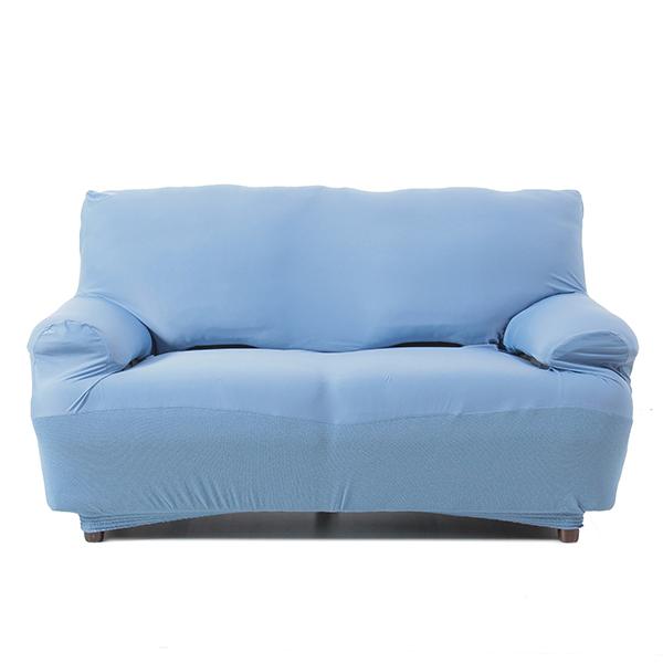接触冷感ソファカバー2人掛用 ブルー HOME COORDY