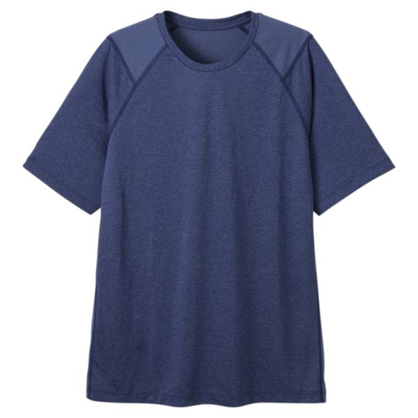 セリアント 天竺×メッシュ半袖Tシャツ