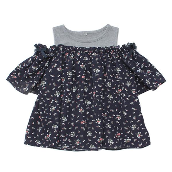 くーるっち オフショルTシャツ 商品画像 (メイン)