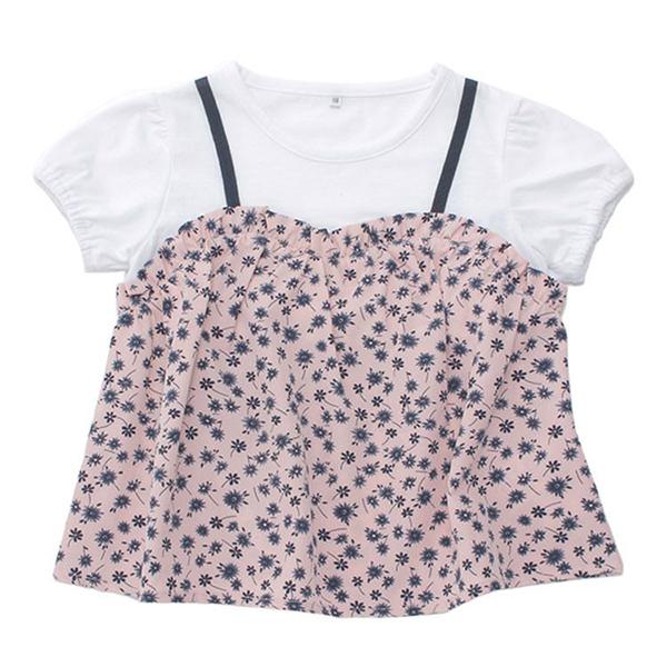 くーるっち キャミフェイクTシャツ 商品画像 (メイン)