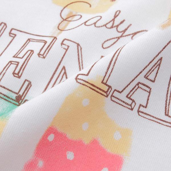 くーるっち アイスクリームプリントTシャツ 商品画像 (1)