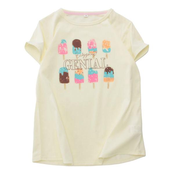 くーるっち アイスクリームプリントTシャツ 商品画像 (メイン)