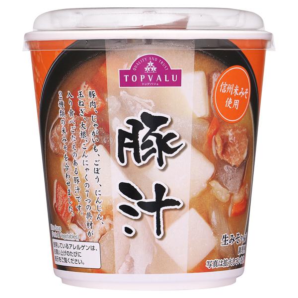 信州米みそ使用 豚汁 生みそタイプ 商品画像 (メイン)