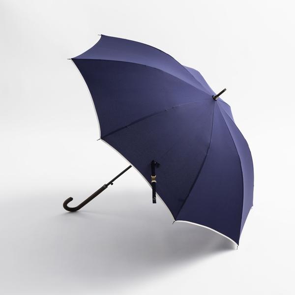 婦人長傘無地パイピング