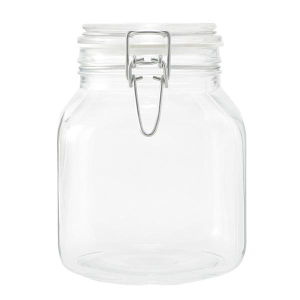 角型密封保存瓶 1000ml HOME COORDY