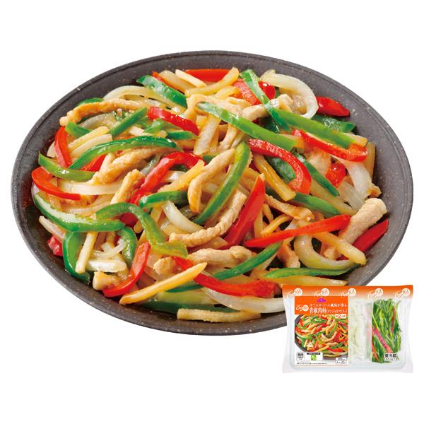 CooKit オイスターソース風味が香る青椒肉絲(チンジャオロウスー) まるごと献立キット クッキット