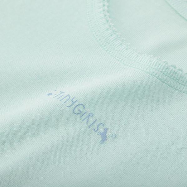 女児トドラーオーガニック綿100% タンク2枚組B 商品画像 (1)
