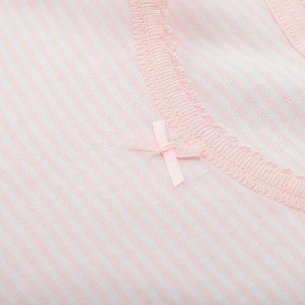 女児トドラーオーガニック綿100% タンク2枚組B 商品画像 (2)