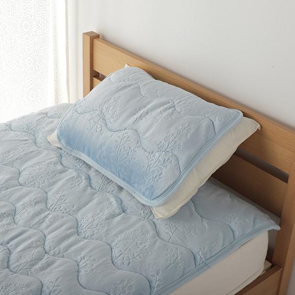 HOME COORDY HEAT まくらパッド 35×50cm・43×63cm兼用 商品画像 (メイン)