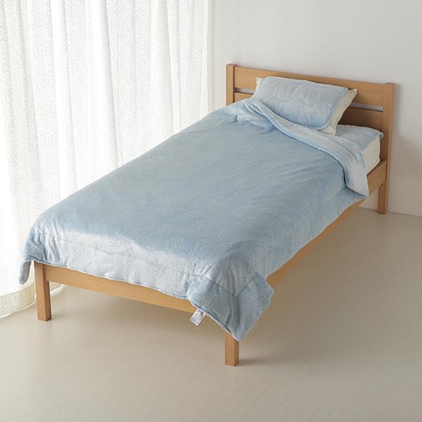 HOME COORDY HEAT わた入り2枚合わせ毛布 シングル 商品画像 (メイン)