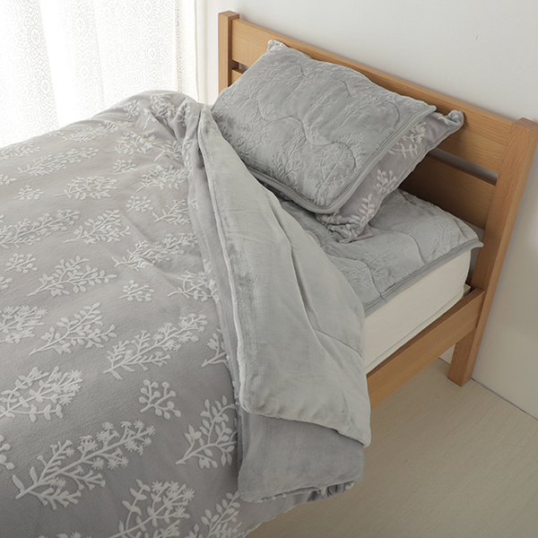 HOME COORDY HEAT わた入り2枚合わせ毛布 シングル 商品画像 (0)