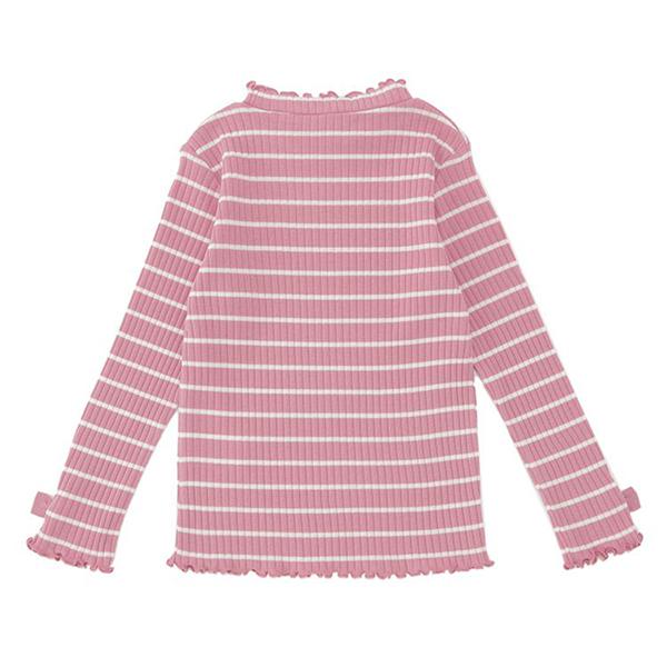 オーガニックコットン リブメロー長袖Tシャツ 商品画像 (0)