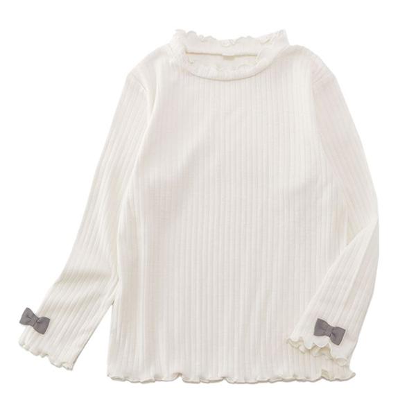 オーガニックコットン リブメロー長袖Tシャツ 商品画像 (メイン)