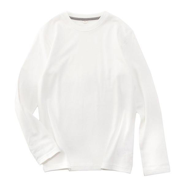 オーガニックコットン クルーネック無地Tシャツ 商品画像 (メイン)