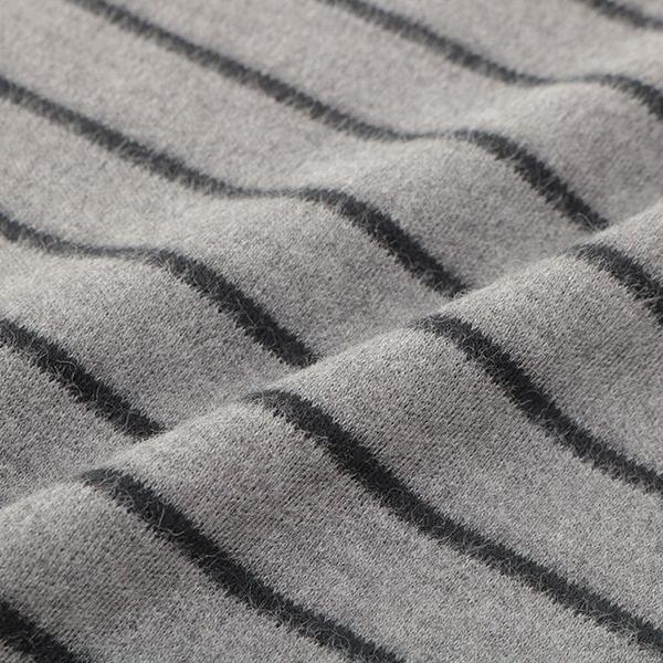 オーガニックコットン クルーネックボーダーTシャツ 商品画像 (1)