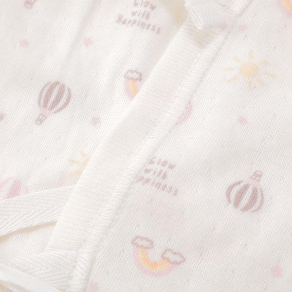 オーガニックコットンブレンド 接結天竺新生児 5点セット 商品画像 (4)