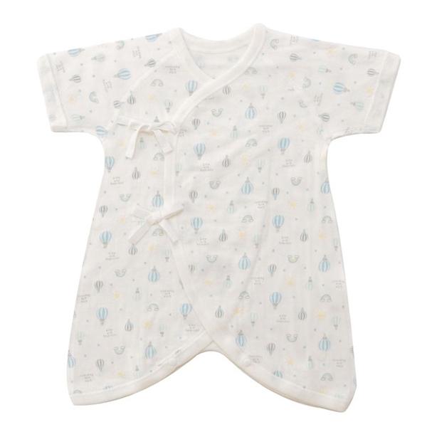 オーガニックコットンブレンド 接結天竺新生児 5点セット 商品画像 (1)