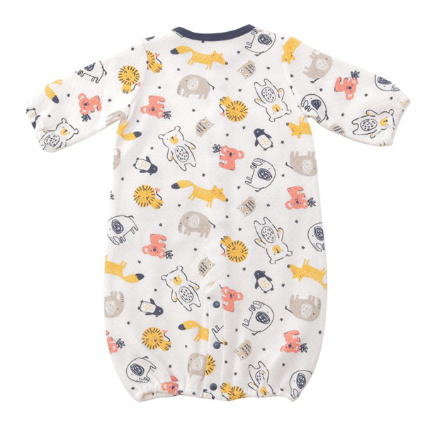 オーガニックコットンブレンド キルト編み ドレス 商品画像 (0)