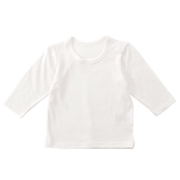 オーガニックコットンブレンド ベア天竺長袖Tシャツ 2枚よりどり本体価格1280円