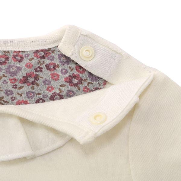 オーガニックコットンブレンド オーガニックコットンスムース長袖丸首シャツ 2枚よりどり本体価格1280円 商品画像 (2)