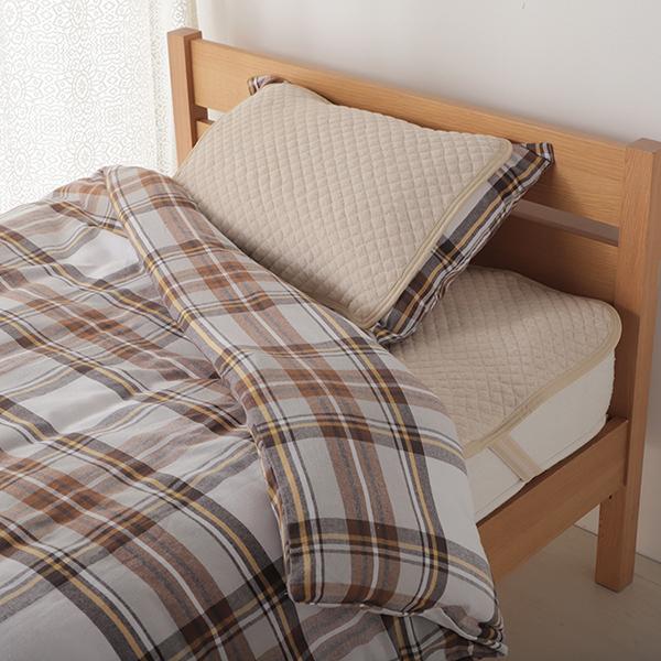 HOME COORDY オーガニックコットン 敷パッド 商品画像 (0)