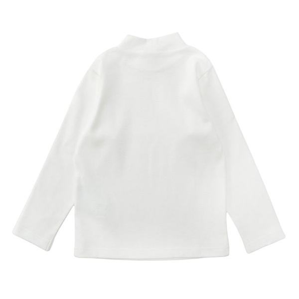 オーガニックコットン ハイネックTシャツ 商品画像 (0)