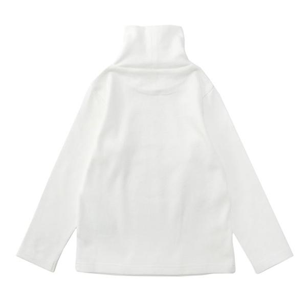 オーガニックコットン タートルネックTシャツ 商品画像 (0)