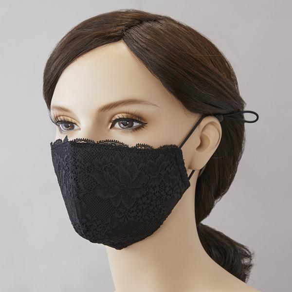 レースマスク ポーチ付