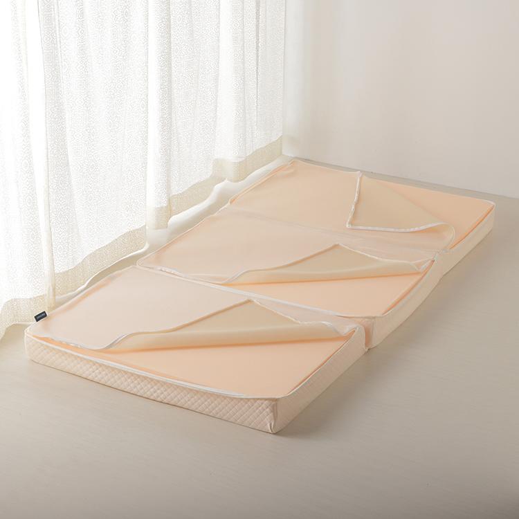 HOME COORDY ふんわりしっかり支える三つ折りマットレス シングル 商品画像 (4)