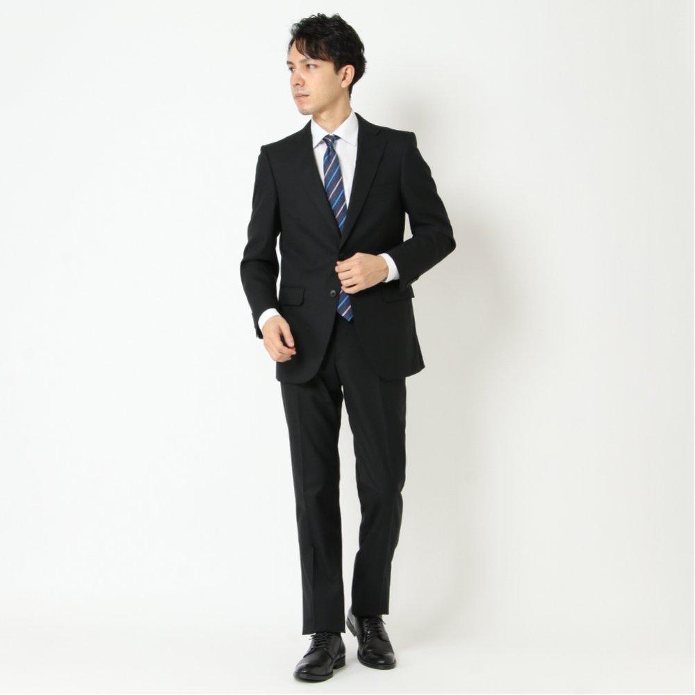 スーツ レギュラー ノータック 防しわ 伸縮 商品画像 (6)