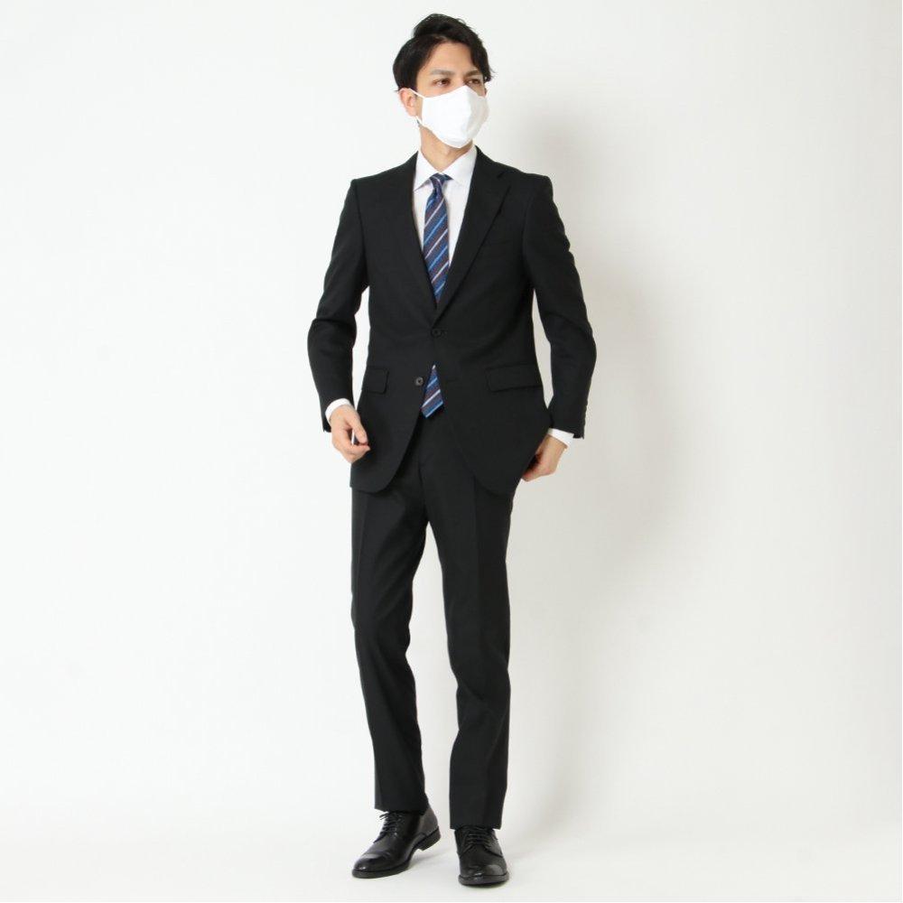 スーツ レギュラー ノータック 防しわ 伸縮 商品画像 (7)
