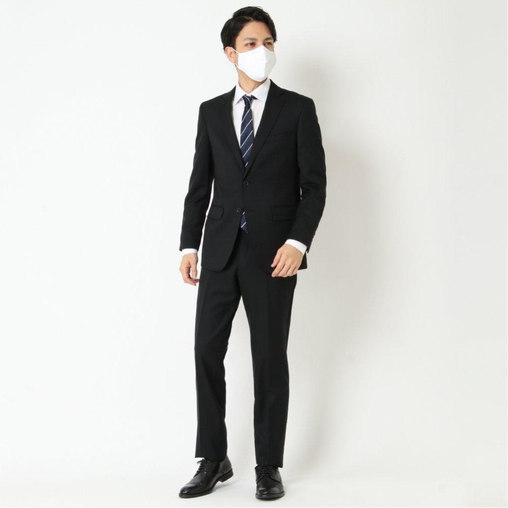 就活スーツ ウール100% ストレッチ 商品画像 (7)