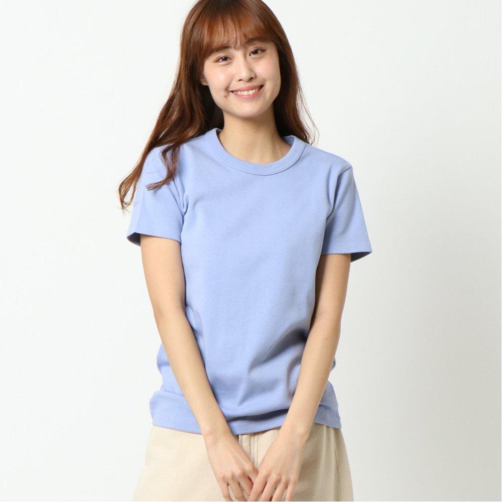オーガニックコットン Tシャツ 半袖 クルーネック なめらかコットン UVケア 抗菌防臭機能付き