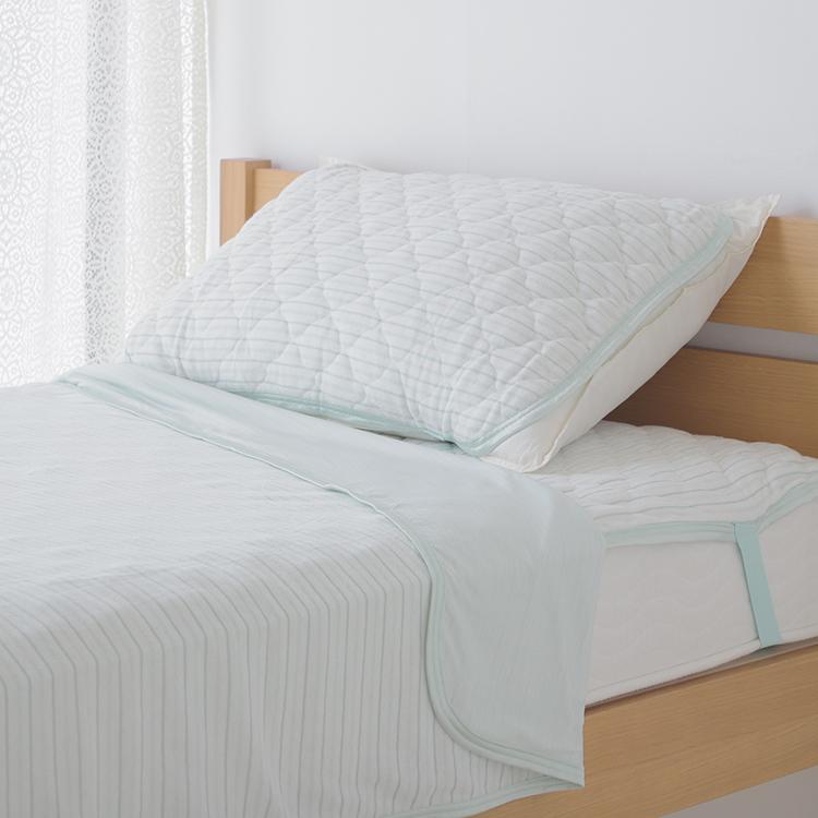 HOME COORDY COLD クール&ドライ タオルケット シングル 商品画像 (1)