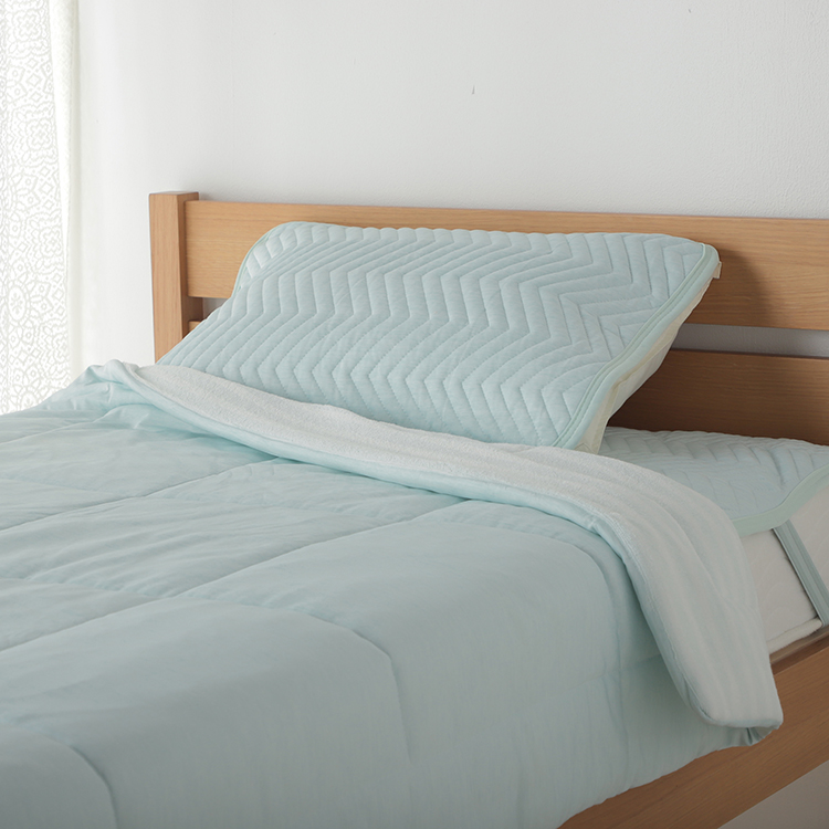 HOME COORDY COLD クール&パイル まくらパッド 43×63cm・50×70cm 兼用 商品画像 (0)