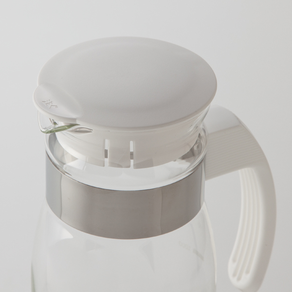 HOME COORDY ハンドル付き耐熱ガラスピッチャー 1.4L 商品画像 (0)