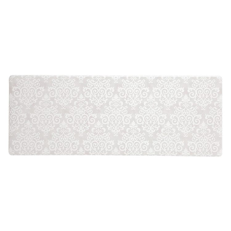HOME COORDY 汚れがサッとふけるキッチンマット ダマスク 45×120cm 商品画像 (メイン)