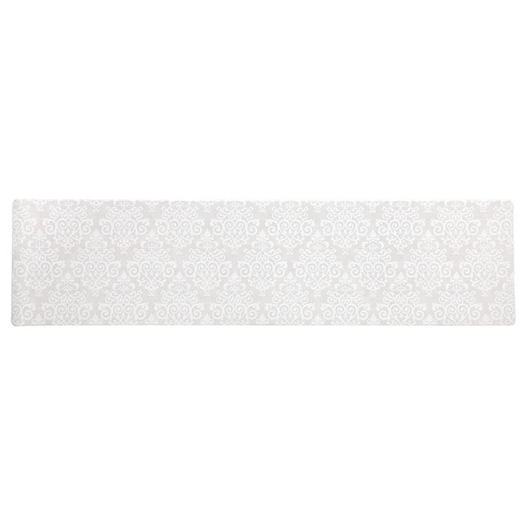 HOME COORDY 汚れがサッとふけるキッチンマット ダマスク 45×180cm 商品画像 (メイン)