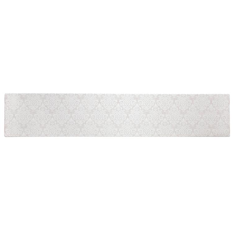 HOME COORDY 汚れがサッとふけるキッチンマット ダマスク 45×240cm 商品画像 (メイン)