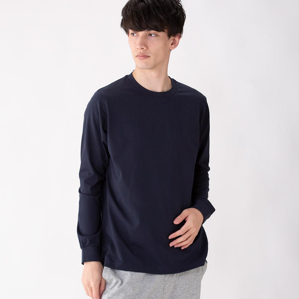 長袖Tシャツ PEACEFIT シルキーファクト