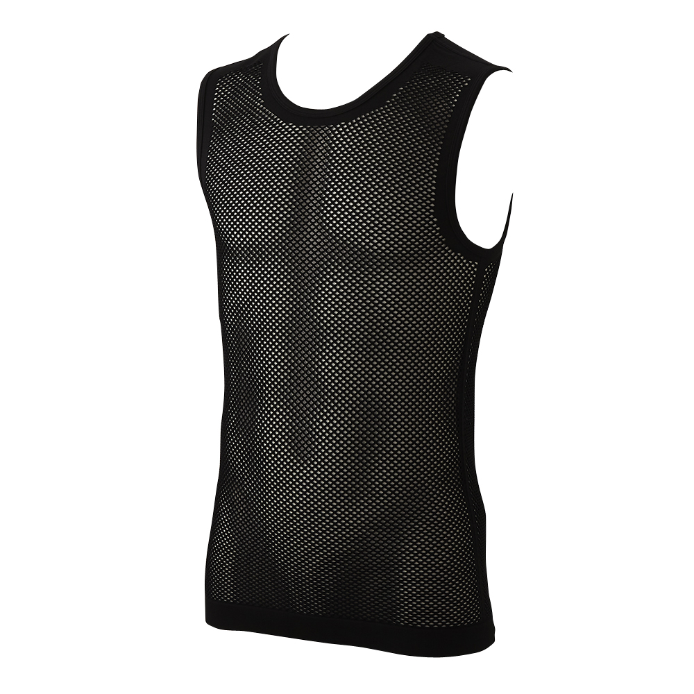 BODY SWITCH 肌側がドライで快適 メッシュ スリーブレスシャツ 商品画像 (メイン)