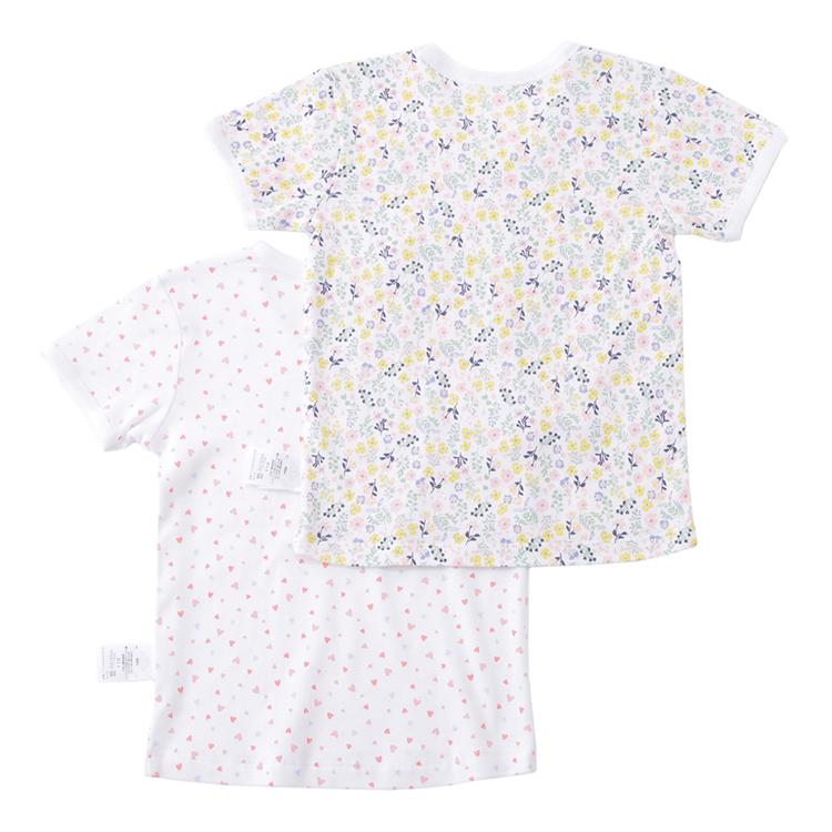 オーガニックコットンブレンド 半袖Tシャツ2枚組 商品画像 (0)