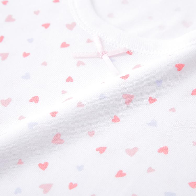 オーガニックコットンブレンド 半袖Tシャツ2枚組 商品画像 (2)