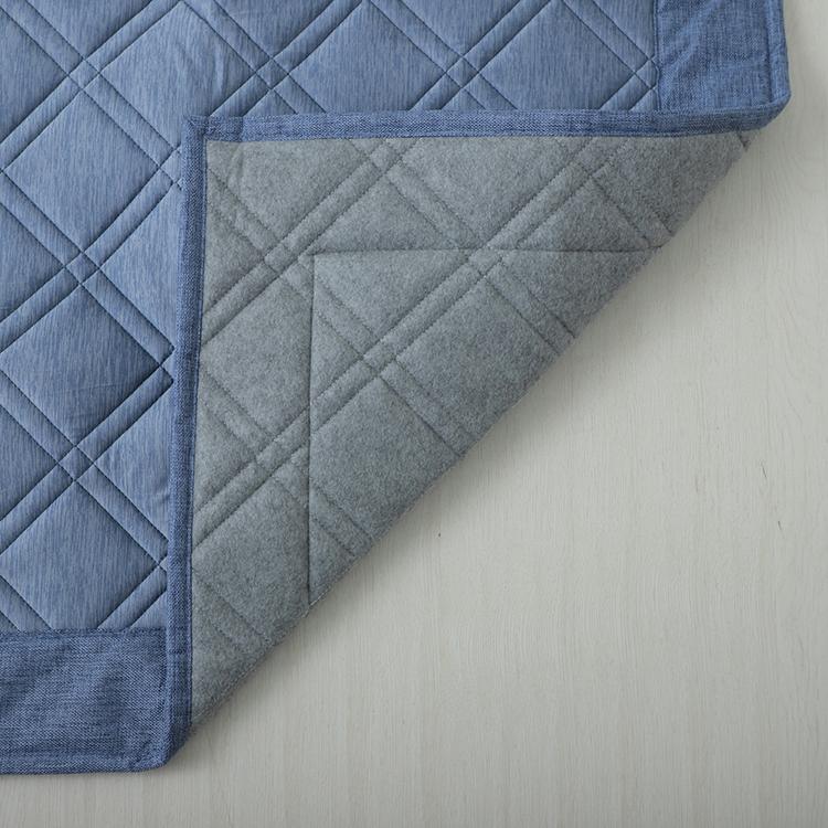HOME COORDY COLD 接触冷感キルトラグ(強冷) 185×185cm(2畳相当) 商品画像 (3)