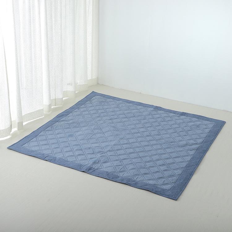 接触冷感キルトラグ(強冷) 185×185cm(2畳相当)