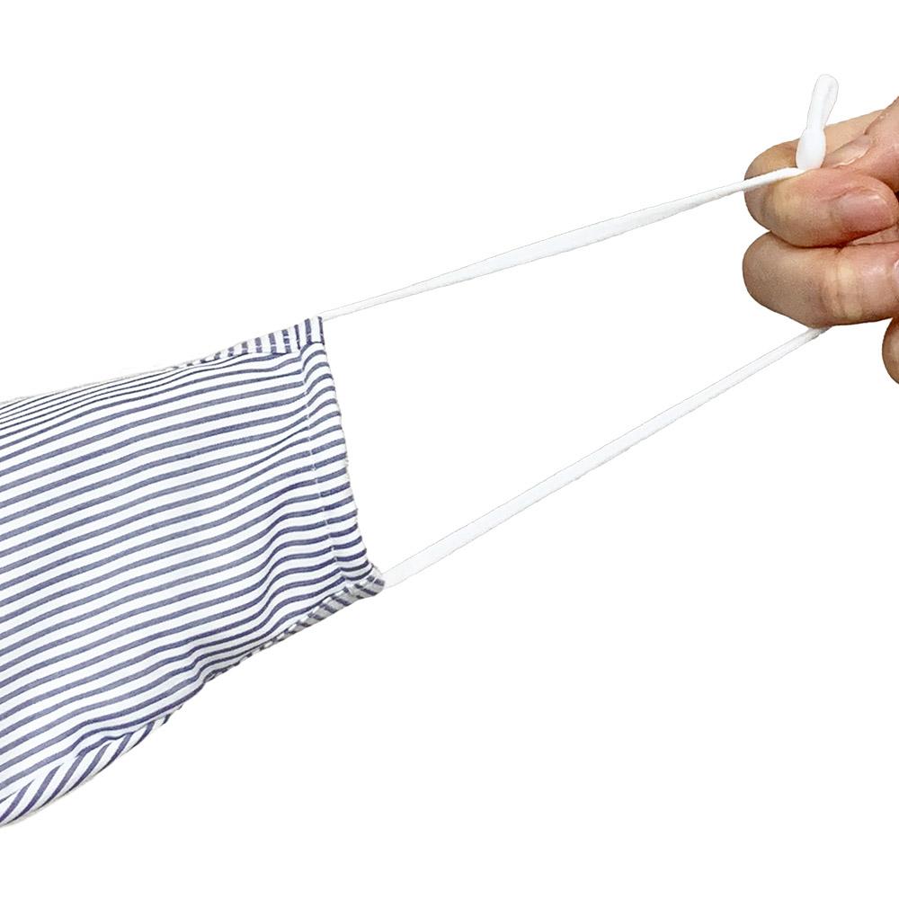 抗菌防臭加工シャツマスク フィルター付 1枚入り 商品画像 (3)