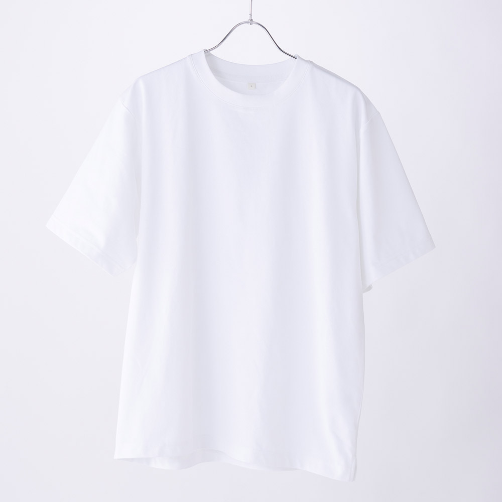 PEACE FIT ルーミーTシャツ シルキーファクト