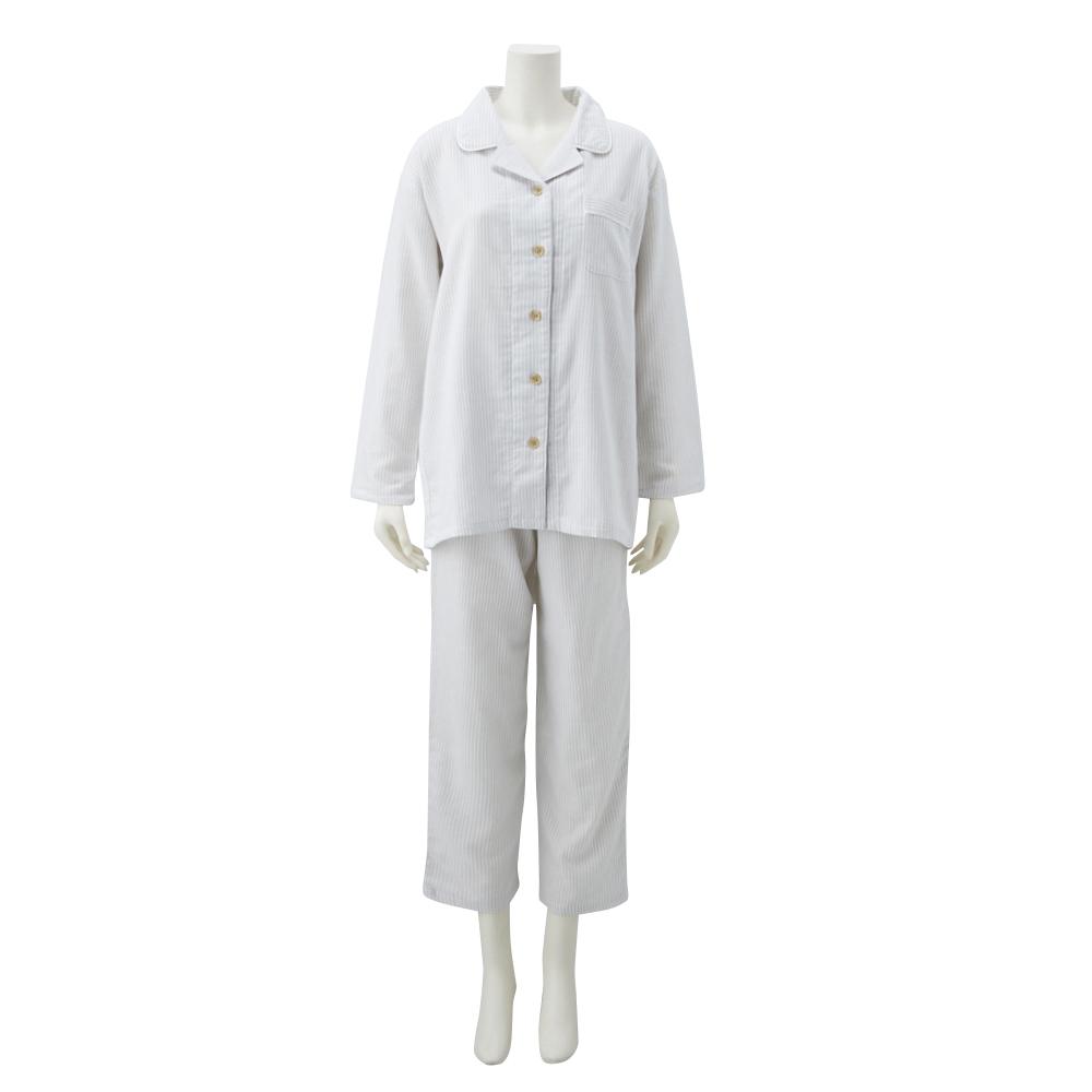 綿100%ストライプ柄パジャマ