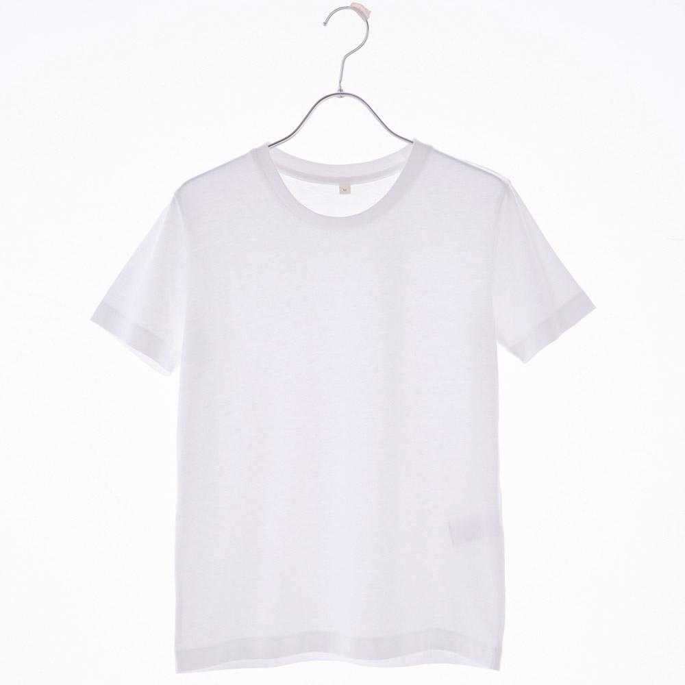 オーガニックコットン Tシャツ 半袖 クルーネック 天竺